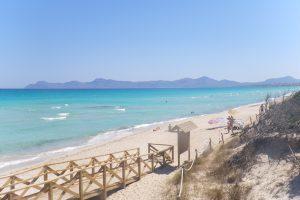 Playa del Puerto de Pollença