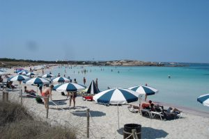 Playa del Espalmador – Es pas d'en Adolf