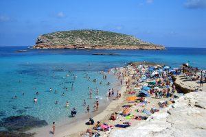 Las playas de Compte, Cala Conta y el Racó d'en Xic